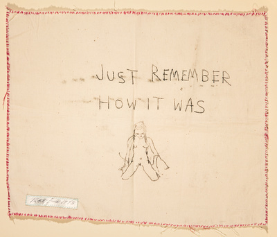Just Remember How It Was, 1998 By Tracey Emin