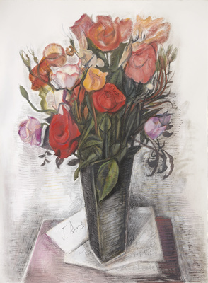 Say it with Flowers, 2015 By John Byrne