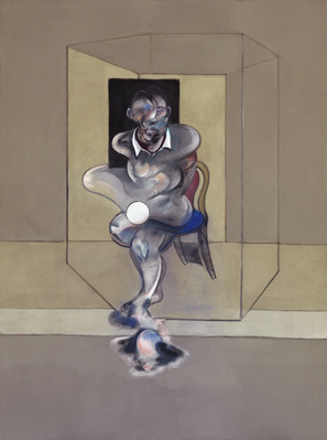 Study for Self-Portrait, 1976 By Francis Bacon