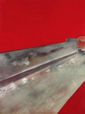 'Street Scene (with Car in Distance)', 1984