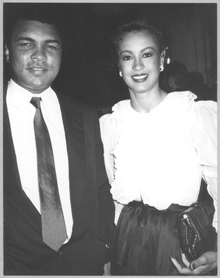 Muhammad Ali and Veronica Ali, 1982