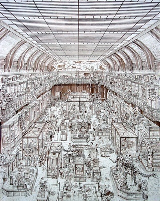 Carbon traders, 2003 By Adam Dant