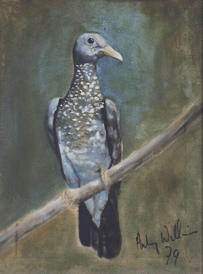 Scaled pigeon, 1978 By Aubrey Williams