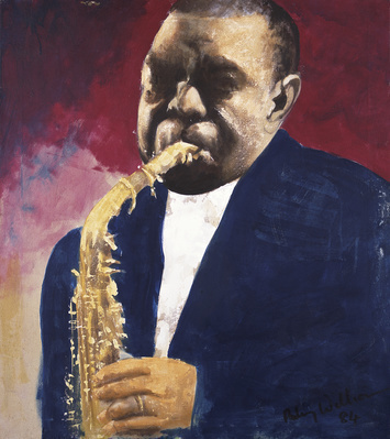 Charlie Parker, c.1984 By Aubrey Williams