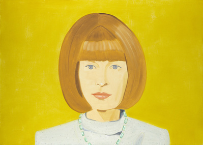 Anna Wintour, 2009 By Alex Katz