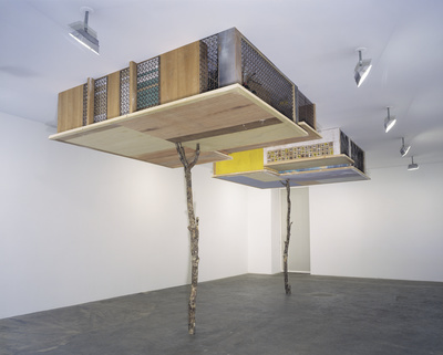 Inverted Retrograde Theme, USA (House for a Song Bird) (2002... By Simon Starling