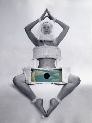 All Seeing I, 1973 By Penelope Slinger