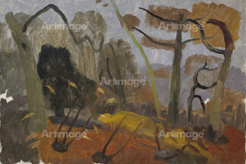 Autumn, Moatlands, c.1932