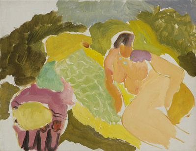 Nude on a Green Rug, c.1934