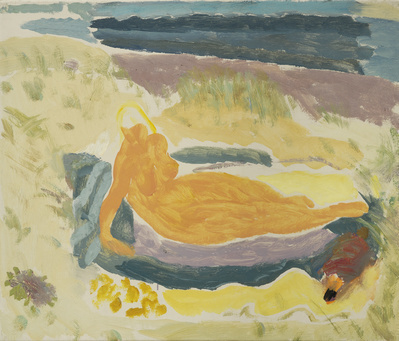 Sunbathing in the Dunes, c.1934