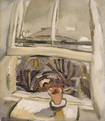 Window View with Cyclamen, c.1929