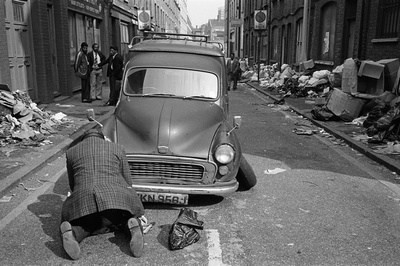 Princelet Street, 1979. Eastender series By Paul Trevor