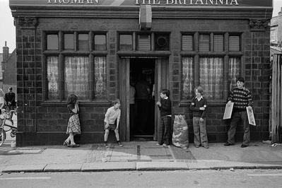 Chilton Street, 1979. Eastender series