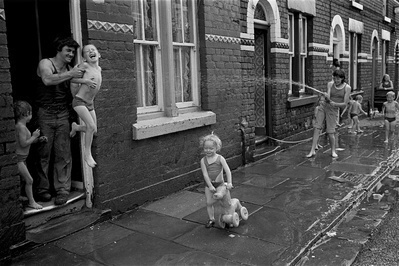 Mozart Street, 1975. Liverpool series By Paul Trevor