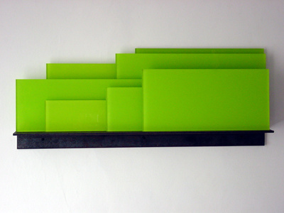 Shelf-Like 5 (Green), 1997