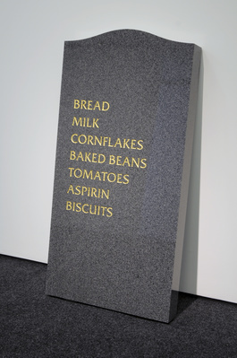 Gravestone, 2008 By David Shrigley