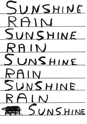 Untitled (Sunshine rain), 2006