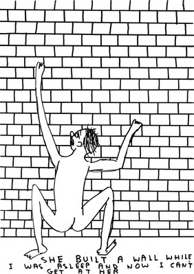 Untitled (She built a wall), 2009