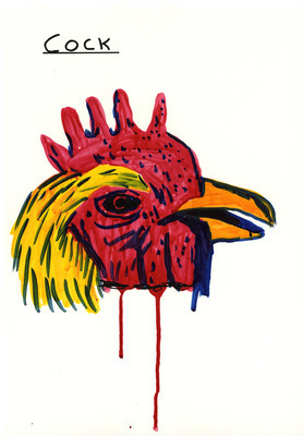 Untitled (Cock), 2009
