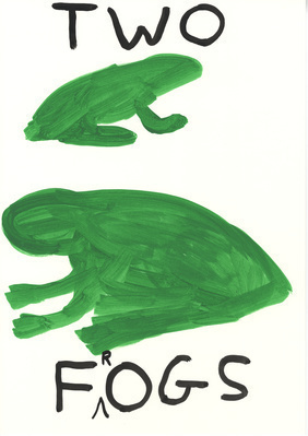 Untitled (Two frogs), 2010