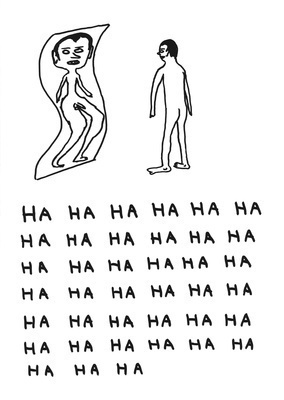 Untitled (ha ha ha ha), 2011