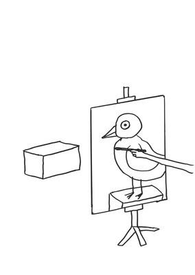 Untitled (Bird painter), 2011