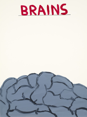 Untitled (Brains), 2012 By David Shrigley