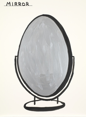 Untitled (Mirror), 2012