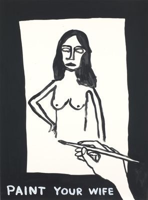 Untitled (Paint your wife), 2012 By David Shrigley