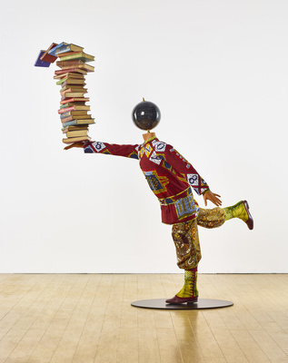 Boy Balancing Knowledge II, 2016
