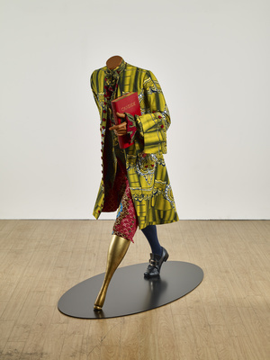 The Age of Enlightenment - Voltaire, 2016 By Yinka Shonibare MBE