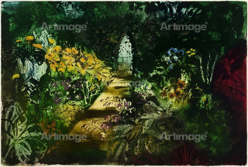Enlarged version of Summer Garden, Fawley Bottom, 1984