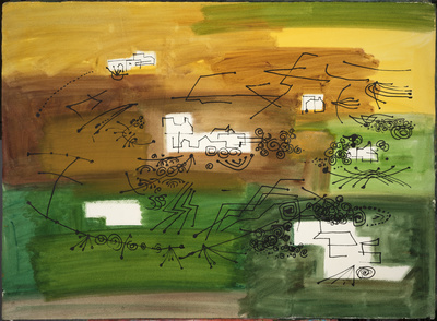 Abstract Landscape, 1968 By John Piper