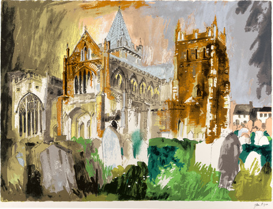 Ottery St. Mary, 1987 By John Piper