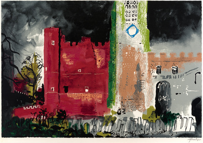 Buckden in a Storm, 1977 By John Piper