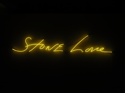Stone Love, 2016 By Tracey Emin