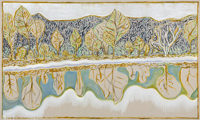 the white tree, 2014 By Billy Childish