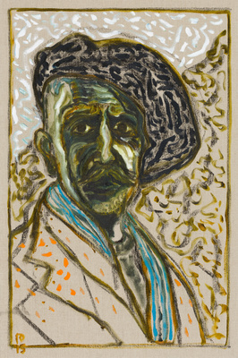 self portrait, 2015 By Billy Childish