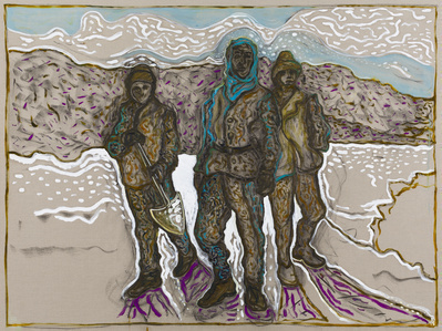cape denison 1913 (version), 2015 By Billy Childish