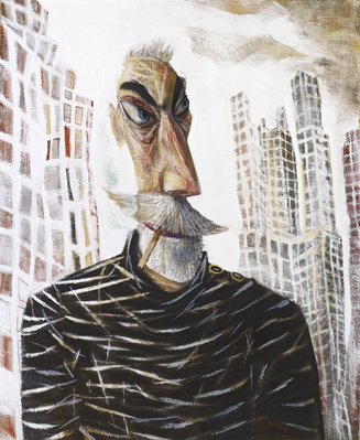 NY Self Portrait, 2012 By John Byrne