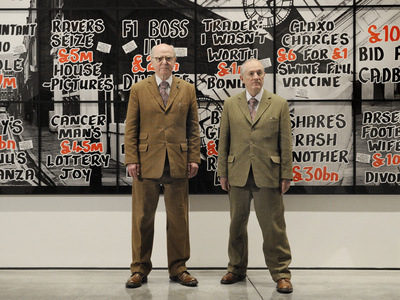 Gilbert and George, London, 2012