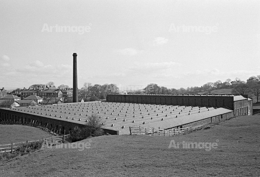 Enlarged version of Bancroft Shed, Barnoldswick, Lancashire, 1976