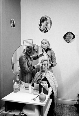 North of England: Ladies' hairdresser, Nelson, Lancashire, 1...