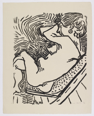 Le Grand Bois Large Woodcut, 1906 By Henri Matisse