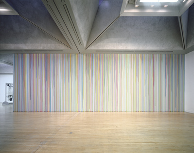 Untitled Poured Lines (Tate Britain), 2003