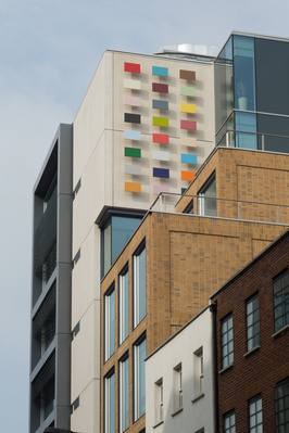 Duke Street Colour Chart, 2013 By Alison Turnbull