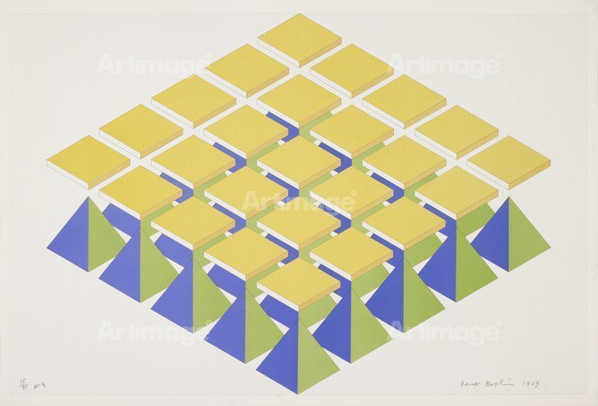 No 3 (From A Series Of 6 Prints; No.15 Of An Edition Of 75), 1969