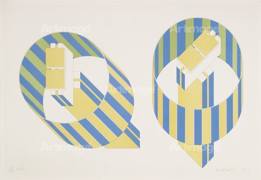 No 6 (From A Series Of 6 Prints; No. 15 Of An Edition Of 75), 1969