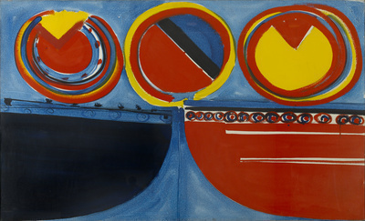 Red, Yellow and Blue, 1962 By Terry Frost