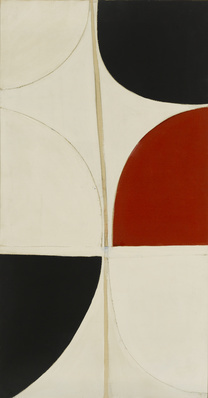 Red, Black, White, 1965 By Terry Frost